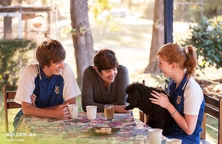 schueleraustausch-australien-schulwahl-mackay-north-state-high-school-mittag