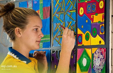schueleraustausch-australien-schulwahl-miami-state-high-school-kunstunterricht