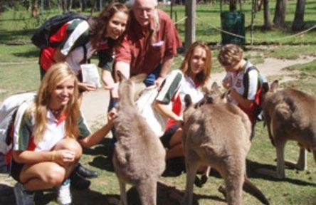 schueleraustausch-australien-schulwahl-south-sydney-high-school-kangaroo