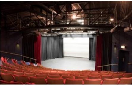 Schüleraustausch, England, Schulwahl, Frome College, Theatersaal