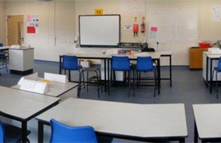 Schüleraustausch England, Schulwahl, Mark Rutherford School, Klassenzimmer