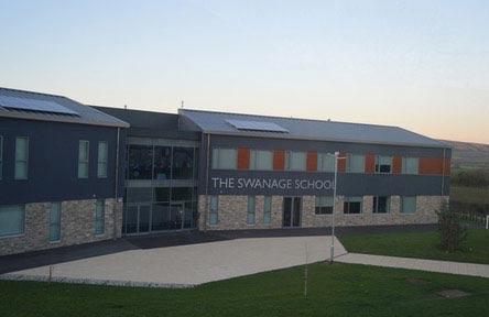 Schüleraustausch England, Schulwahl, Swanage School, Gebäude
