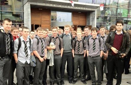 schueleraustausch-irland-schulwahl-st.-francis-capuchin-college-klasse