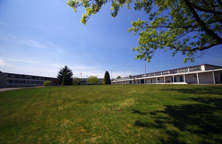 Schüleraustausch, Kanada, Schulwahl, Burnaby North, Schulhof