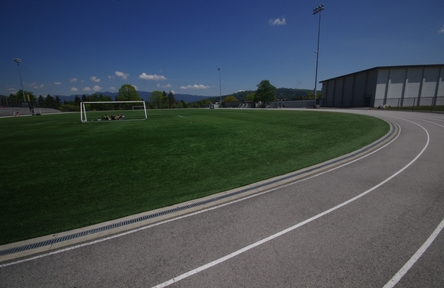 Schüleraustausch, Kanada, Schulwahl, Burnaby North, Sportplatz