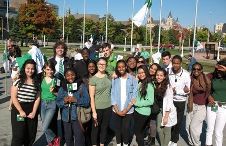 Schüleraustausch, Kanada, Schulwahl, Ecole de la Salle, Gruppe