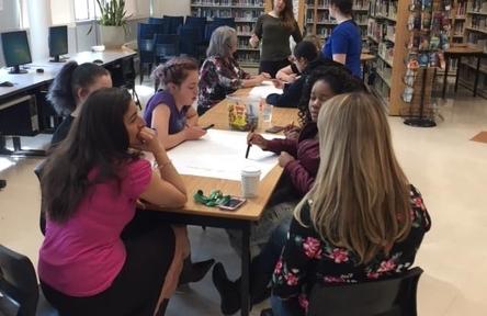Schüleraustausch, Kanada, Schulwahl, Ecole Gisele Lalonde, Bücherei
