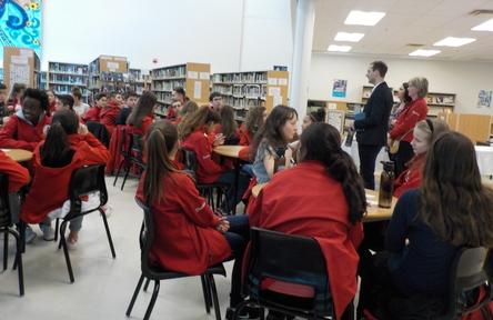 Schüleraustausch, Kanada, Schulwahl, Ecole Gisele Lalonde, Schüler