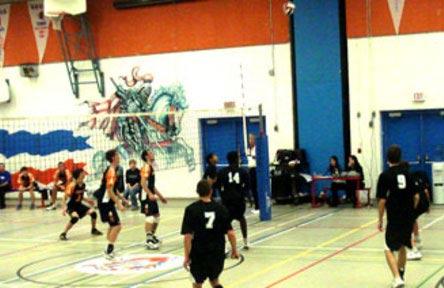 schueleraustausch-kanada-schulwahl-innisdale-secondary-school-volleyball
