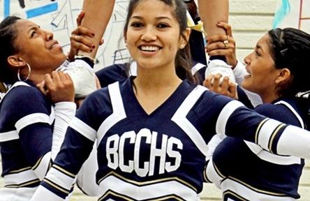 Schüleraustausch USA, Birminghamd High School Cheerleader