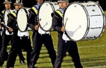 Schüleraustausch USA, Birminghamd High School Trommel