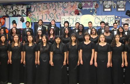Schüleraustausch USA, Birminghamd High School Chor
