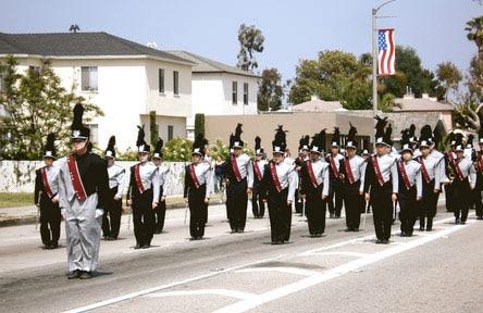 schueleraustausch-usa-schulwahl-torrance-high-school-parade