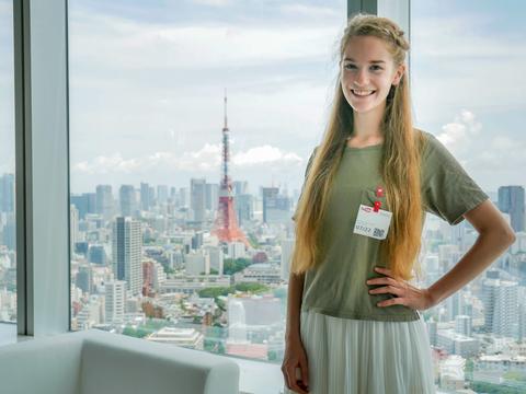 Schüleraustausch, Vlog, Japan, Sophie