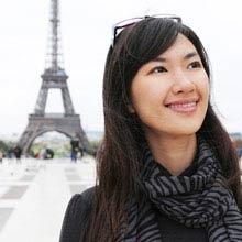 Praktikum Frankreich, Frau, Eiffelturm