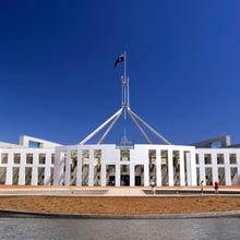 Australien Canberra Parlament