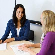 Praktikum, England, Interview, Frauen, Büro