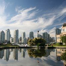 Praktikum Kanada, vancouver, Skyline, Reflektion