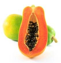 Ecuador Lieblingsfrucht, Papaya