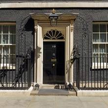 Großbritannien Tür, 10 Downing Street
