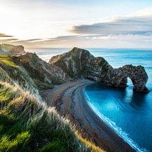 Großbritannien Entfernung zum Meer, 125 km