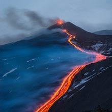 Italien aktivster Vulkan, Aetna