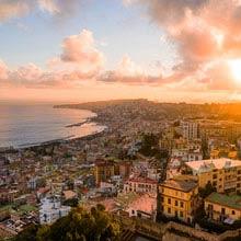 Italien Geburtsort der Pizza, Neapel