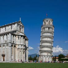 Italien, Schiefer Turm Pisa