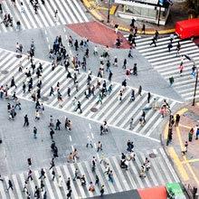 Japan Berühmteste Kreuzung