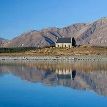 Neuseeland klarster See, Blue Lake