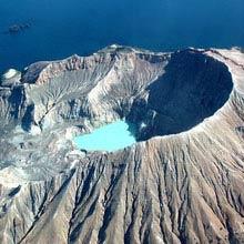 Neuseeland aktivster Vulkan, White Island Vulkan