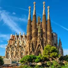 Spanien Sagrada Familia, Bauzeit