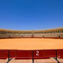 Spanien Stierkampfarena Durchmesser