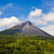 Costa Rica aktive Vulkane