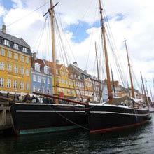 Schüleraustausch Finnland, Kopenhagen, Boote