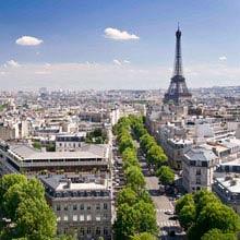 Schüleraustausch Frankreich, Paris, Blick