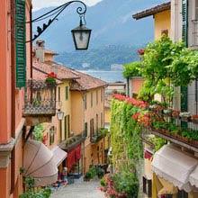 Schüleraustausch Italien, kleine Gasse