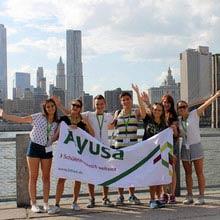 Schüleraustausch Kanada, NYC, Gruppe