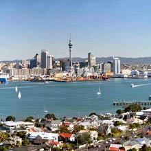 Schüleraustausch Neuseeland, Skyline