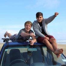 Schüleraustausch Neuseeland, Freunde, Autodach