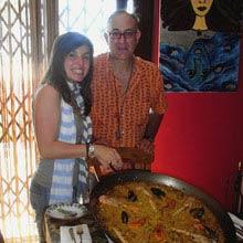 Praktikum Spanien, Paella, Essen