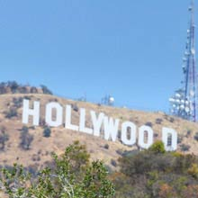 Usa länge Hollywood sign, 137 Meter