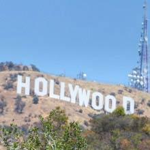 Usa länge Hollywood sign, 137 Meter