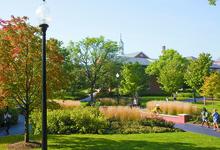College Stipendium USA, North Park University, Chicago, Campus, Park