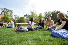 College Stipendium USA, North Park University, Chicago, Studentengruppe