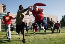 College Stipendium USA, Southern Utah University, Frisbee