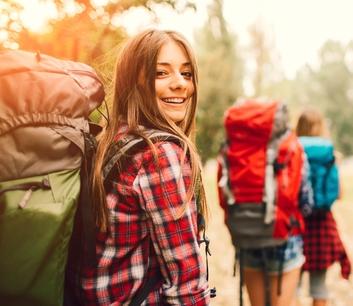 Work & Travel Neuseeland, Backpack, Frau