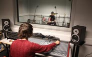 Schüleraustausch England, Schulwahl, Farnham Sixth Form College, Tonstudio