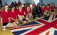 Schüleraustausch England, Schulwahl, Lavington School, Union Jack