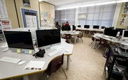 Schüleraustausch, Kanada, Schulwahl, Burnaby North, Computerraum